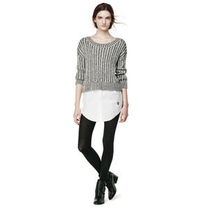 Thakoon | for Design Nation Faux Layered Sweater